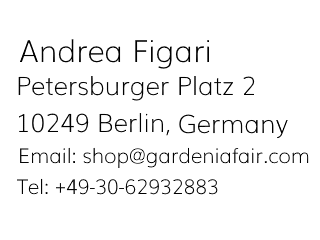 GardeniaFair Impressum Info