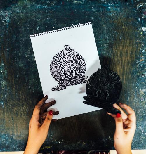 Linoprint Course Reveal