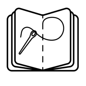 Bookbinding icon