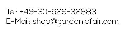 Email Phone GardeniaFair